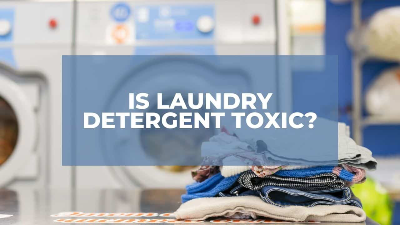 Is Laundry Detergent Toxic