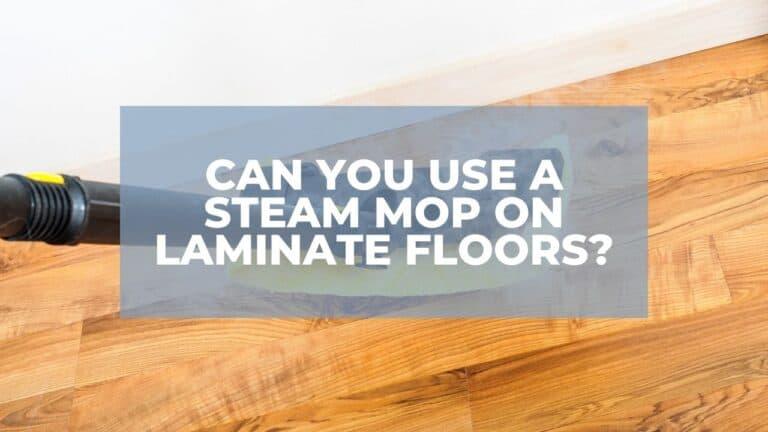 steam mop on laminate floors