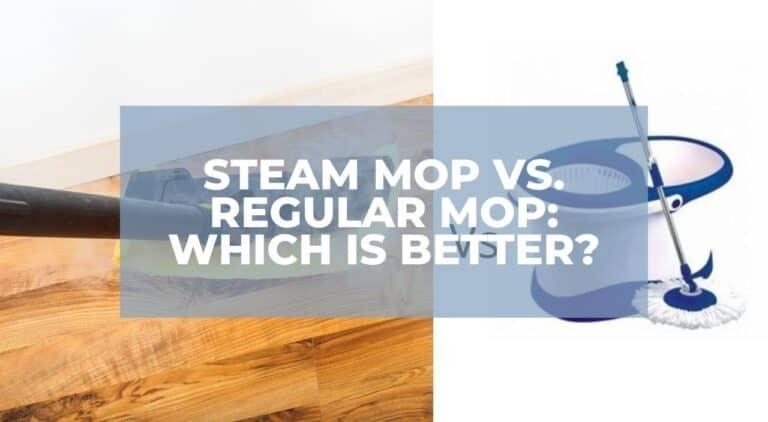 difference between Steam Mop & Regular Mop